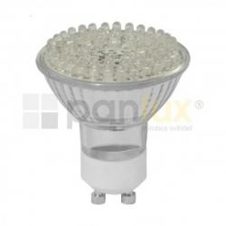 Žárovka LED 230V GU10L2-6060/S 3,25W studená bílá Panlux