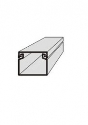 Lišta vkládací elektroistalační 11x10 2m EIP 11010 Polyprofil