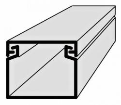 Lišta vkládací elektroinstalační 25x20 2m EIP 25020 Polyprofil