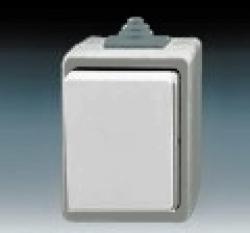 Spínač 3553-01929 S Praktik jednopólový IP 44 ABB