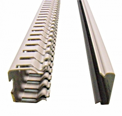 Žlab kabelový perforovaný 25x25 RH724243 2 m Schrack