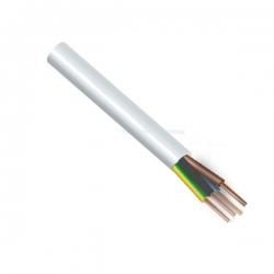 Kabel H05VV-F 4x0,75 CYSY bílý ohebný