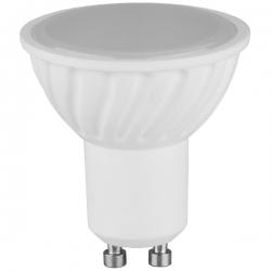 Žárovka LED 230V 7W GU10 SMD 18LED 500lm studená
