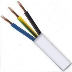 Kabel H03VV-F 3x0,5 CYSY bílý ohebný