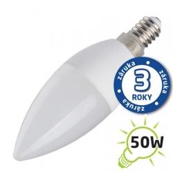 Žárovka LED 230V 7W E14 C37 bílá přírodní Tipa