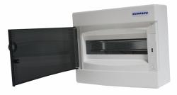 Rozvodnice SCHRACK 8 modulů BK080100 na omítku nástěnná