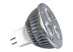 Žárovka LED 12V 3W POWER 3x1W-WW Greenlux