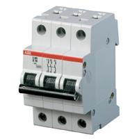 Jistič ABB 16C/3 SH203-C16 16A třífázový 6kA 2CDS213001R0164