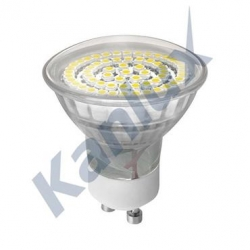 Žárovka LED 230V 3W GU10 LED60 SMD-WW 08930 Kanlux