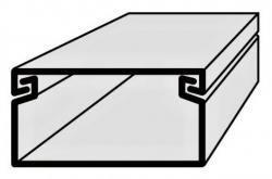 Lišta vkládací elektroinstalační 50x25 2m EIP 50025 Polyprofil